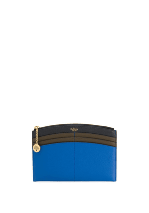 Mulberry curved Traveller wallet - Blue