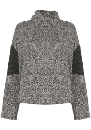 ALALA knitted roll-neck jumper - Black