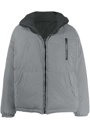 Givenchy reversible puffer jacket - Grey