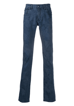 Etro skinny fit jeans - Blue