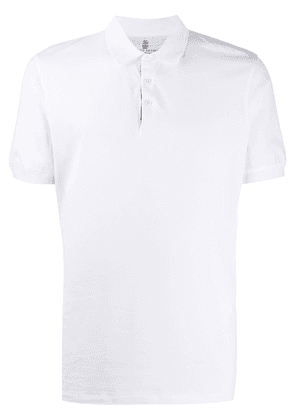 Brunello Cucinelli relaxed fit polo shirt - White