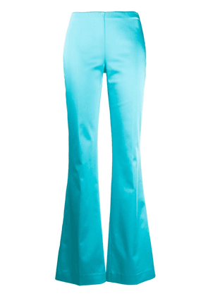 P.A.R.O.S.H. Alice flared trousers - Blue