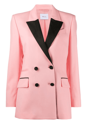 Racil double-breasted fitted blazer - PINK