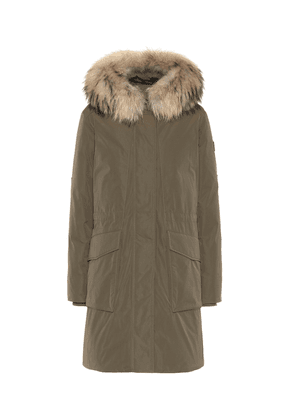 W's York down parka