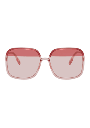 Dior Pink and Burgundy DiorSoStellaire1 Sunglasses