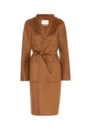 Lilia double-face cashmere coat