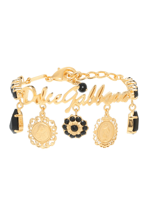 Gold-plated charm bracelet
