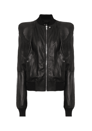 Zionic leather jacket