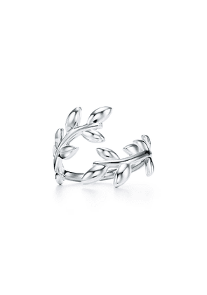 Paloma Picasso® Olive Leaf bypass ring in sterling silver - Size 7