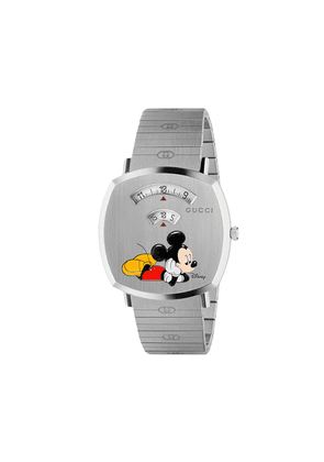 Gucci x Disney Grip Mickey Mouse watch - SILVER