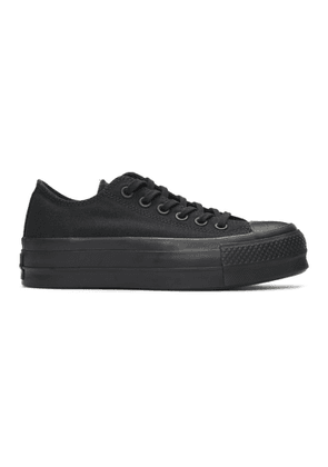 Converse Black Chuck Taylor All Star Lift Clean Low Sneakers