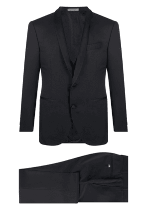 Corneliani tailored three piece suit - Black