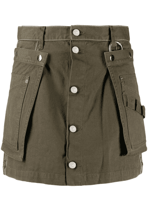 Diesel A-line skirt with utility belt - 51F