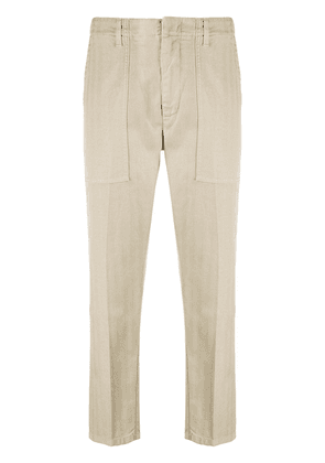 Dondup tapered cargo trousers - NEUTRALS