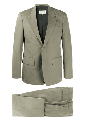 Maison Margiela single-breasted two-piece suit - Green