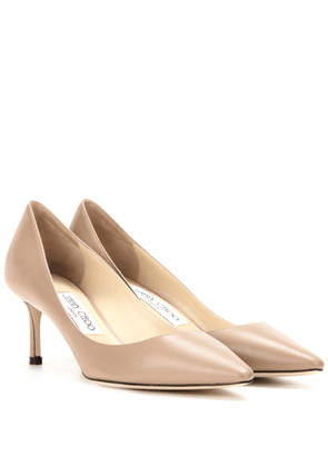 Romy 60 leather pumps