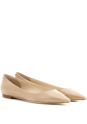 Romy patent leather ballet flats