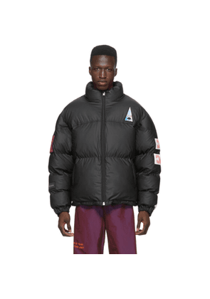 adidas Originals by Alexander Wang Black Flex2Club Puff Jacket