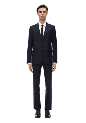 Natural Wool Blend London Suit