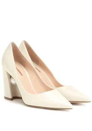 Miri 90mm leather pumps