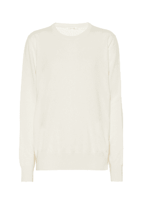 Olive cashmere sweater