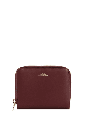 Emanuele Leather Compact Wallet