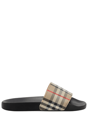 Furley Check Tech Slide Sandals