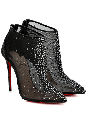 Constella 100 mesh ankle boots
