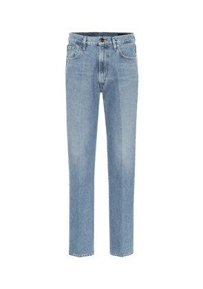 Nineties high-rise straight jeans