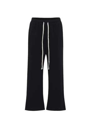 DRKSHDW cropped cotton trackpants