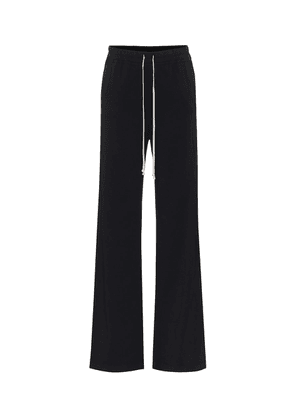 DRKSHDW elongated cotton trackpants