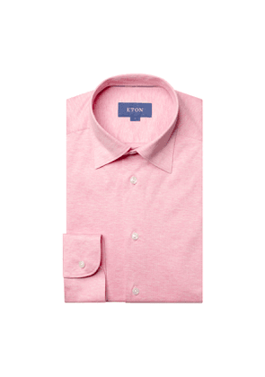 Pink Cotton Jersey Shirt