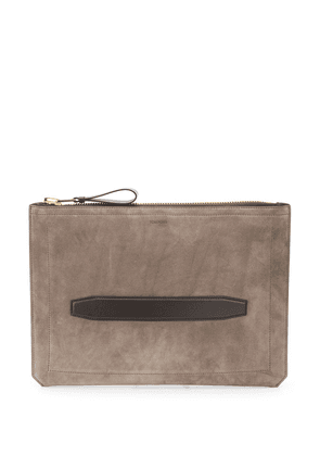 Tom Ford flat handle clutch - NEUTRALS