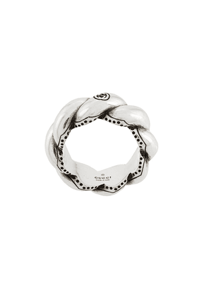 Gucci woven ring - SILVER