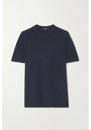 Theory - Cashmere T-shirt - Navy