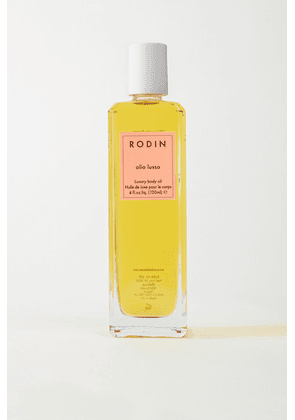 Rodin - Luxury Body Oil - Geranium & Orange Blossom, 120ml