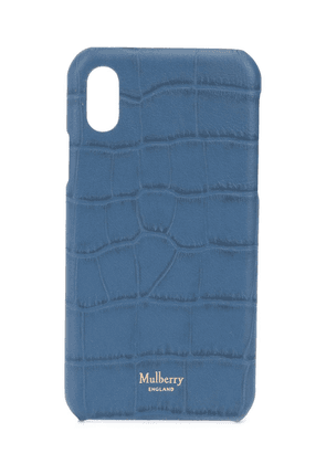 Mulberry iPhone X case - Blue