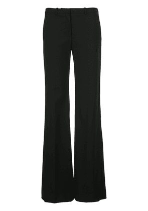 Theory low-waist flared trousers - Black