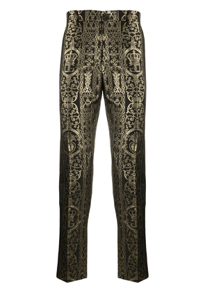 Dolce & Gabbana tailored cropped trousers - Black
