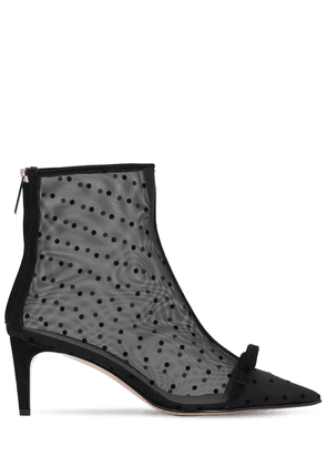 60mm Sandie Mesh Ankle Boots