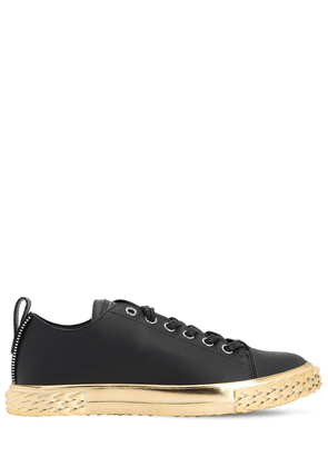 Bladder Leather Sneakers