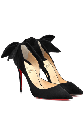 Exclusive to Mytheresa – Rabakate 100 suede pumps