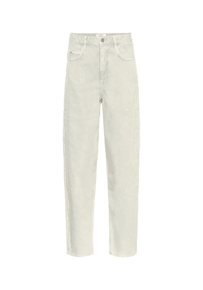 Corsy mid-rise straight jeans