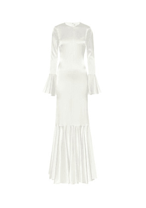 Exclusive to Mytheresa – Allonia stretch-silk satin gown