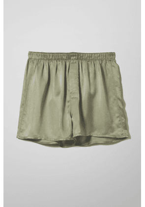 Tom Woven Boxers - Green