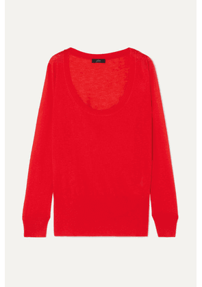 J.Crew - Lyocell-blend Sweater - Red