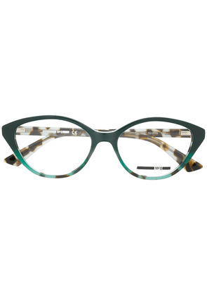McQ Alexander McQueen cat-eye shaped glasses - Green