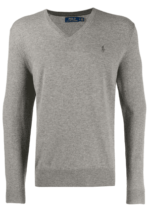 Polo Ralph Lauren V-neck jumper - Grey