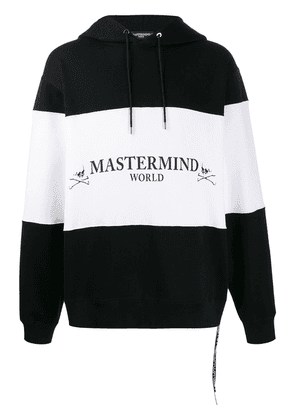 Mastermind World oversized colour-block hoodie - Black