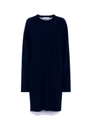 Wool and cotton dress